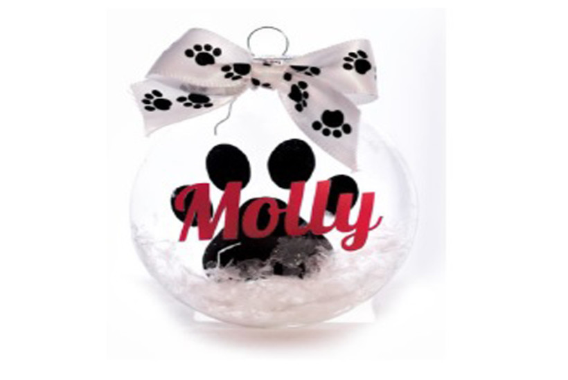 Happy Howlidays Christmas Ornament